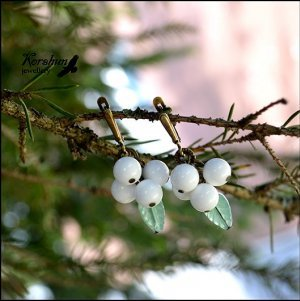 Серьги Первоцветы