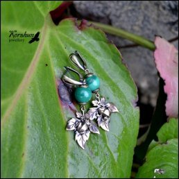 Серьги Царевна-лягушка